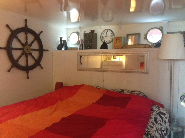 Temporary Master Bedroom on the Orion-3 Sealiberty Cruising