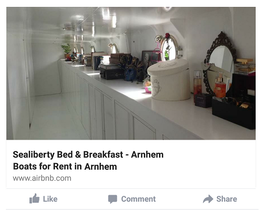 Sealiberty B&B Arnhem on AirBnB